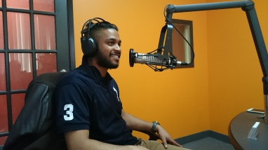 Me at AmenFM (tamilchristian Radiostation)